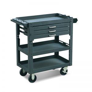 ME150 3 stalčių darbo centras
