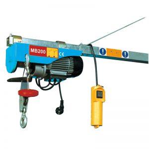 Mini elektrinis keltuvas MB200, elektrinis svirties keltuvas