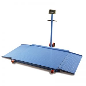 NC1000A mobili grindų svarstyklė
