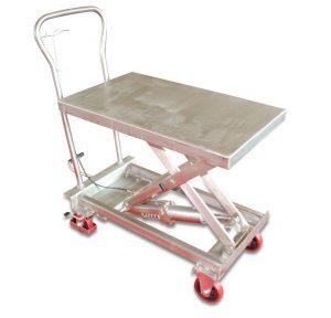 BSS10 nerūdijančio plieno kėlimo stalas